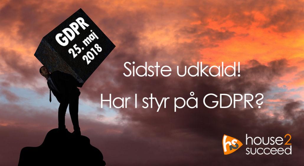 Sådan ved I, om I har godt fat om GDPR