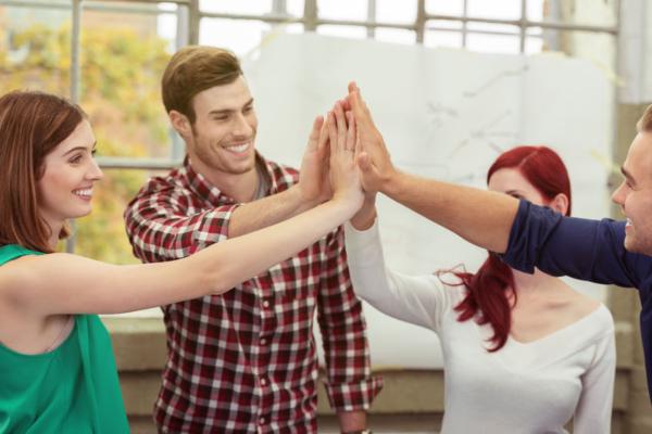 Teamwork og succes